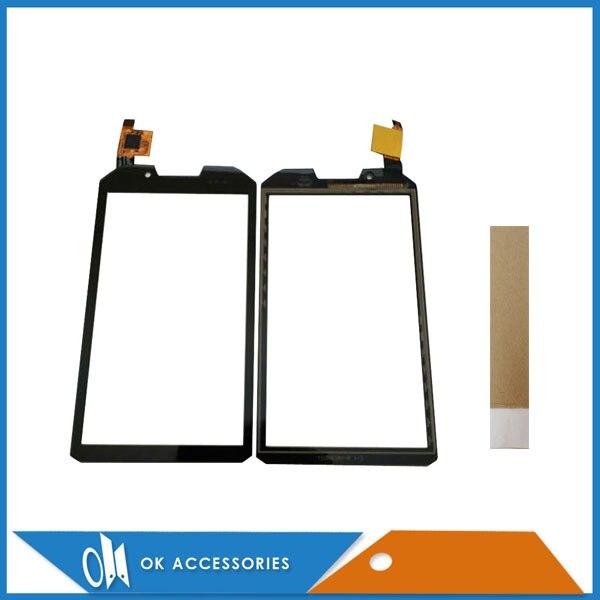Für RugGear RG960 Apex Touchscreen Digitizer Panel Ersatzteile Glas Schwarz Farbe Mit Band 1 Teil/los