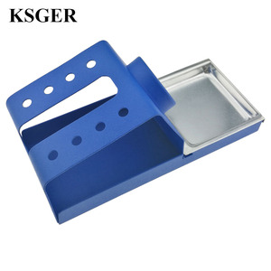 Image 5 - KSGER  DIY T12 Holder Soldering Iron OLED Station Stand FX9501 Handle Welding Iron Tips STC STM32 Aluminum Alloy Tools