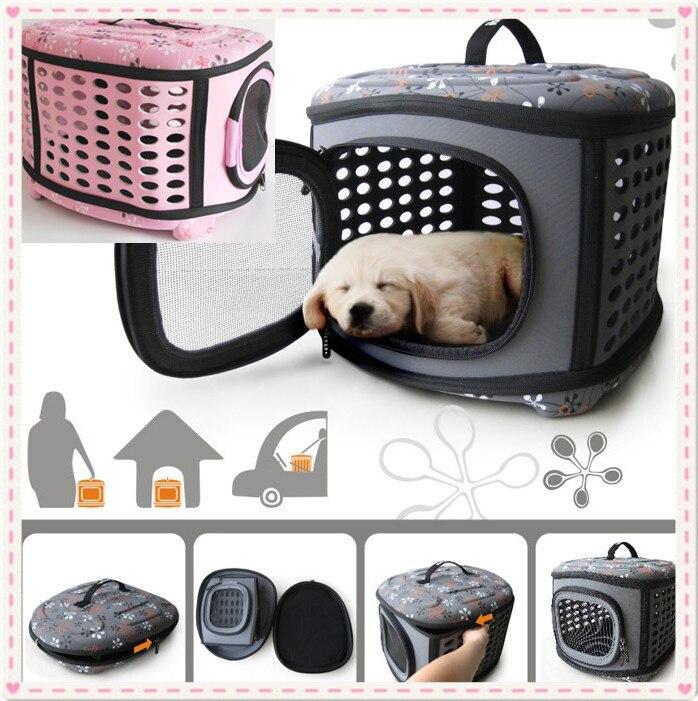 2013 NEW! High quatity Portable Round pet dog cat folding bag ... 5916ba38a3c6