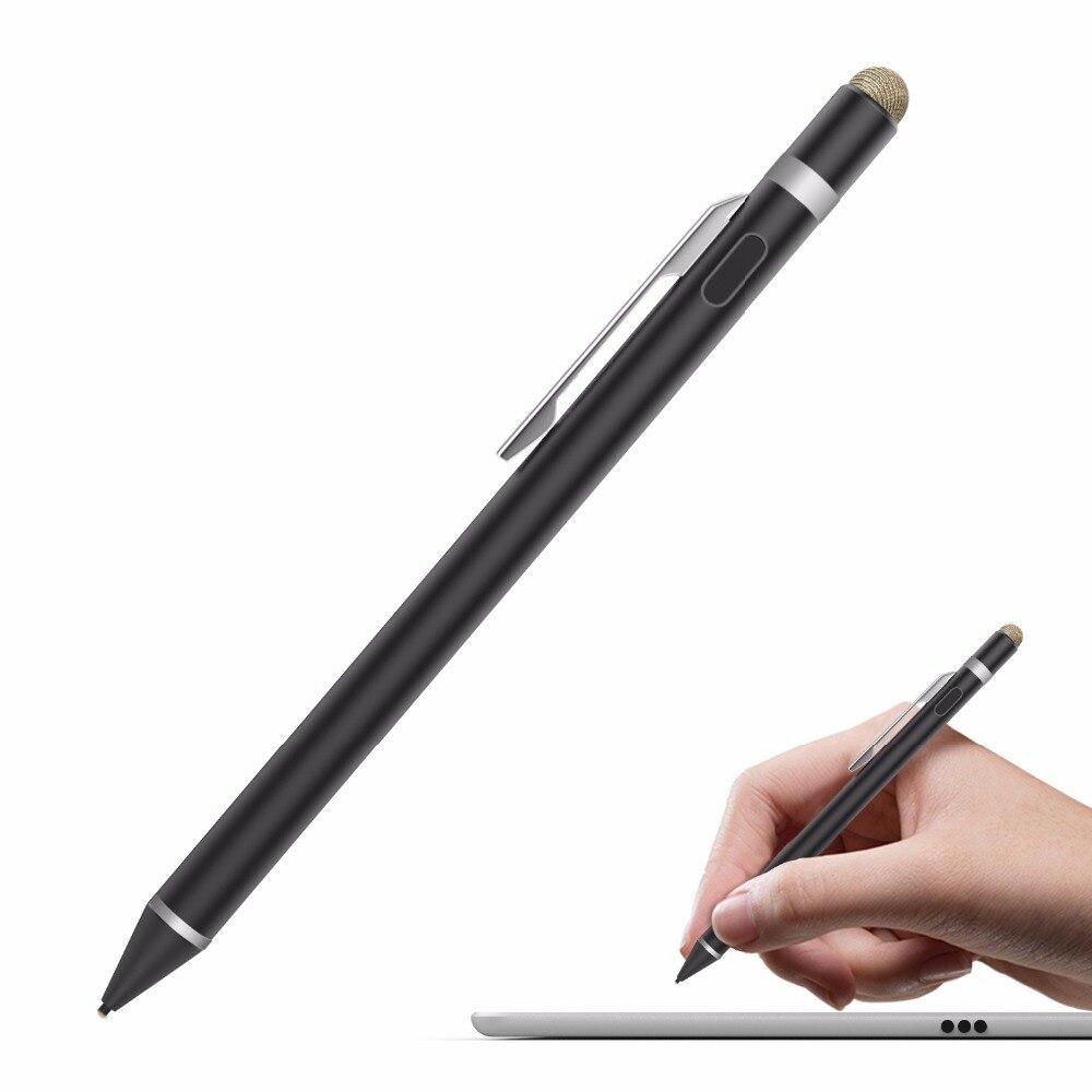 MoKo Universal Active Stylus 2 in 1 High Precision Sensitivity 1 5mm Capacitive Pen Metal Stylus