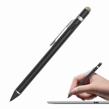 MoKo Universal Active Stylus, 2 in 1 High Precision Sensitivity 1.5mm Capacitive Pen, Metal Stylus Pen for Touch Screen Devices - DISCOUNT ITEM  15% OFF All Category
