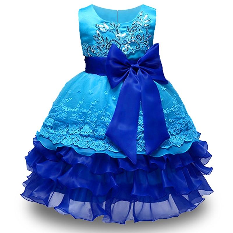 2018 Hohe Qualität Mädchen Stickerei Prinzessin Kleid Für Mädchen Elegante Geburtstag Party Kleid Robe Fille Kinder Kleidung Vestidos