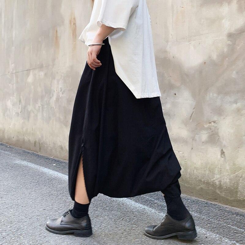 MIXCUBIC Harem-Pants Men Trouser Sagging Loose England-Style Summer Casual