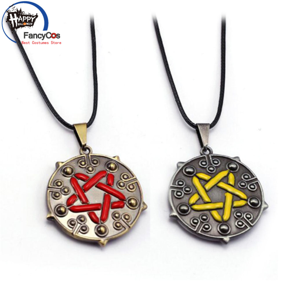 The Witcher 3  Necklace Wild Hunt Yennefer Pendant Metal Necklace Fancy Jewelry Costume Cosplay Halloween Movie Gifts Party