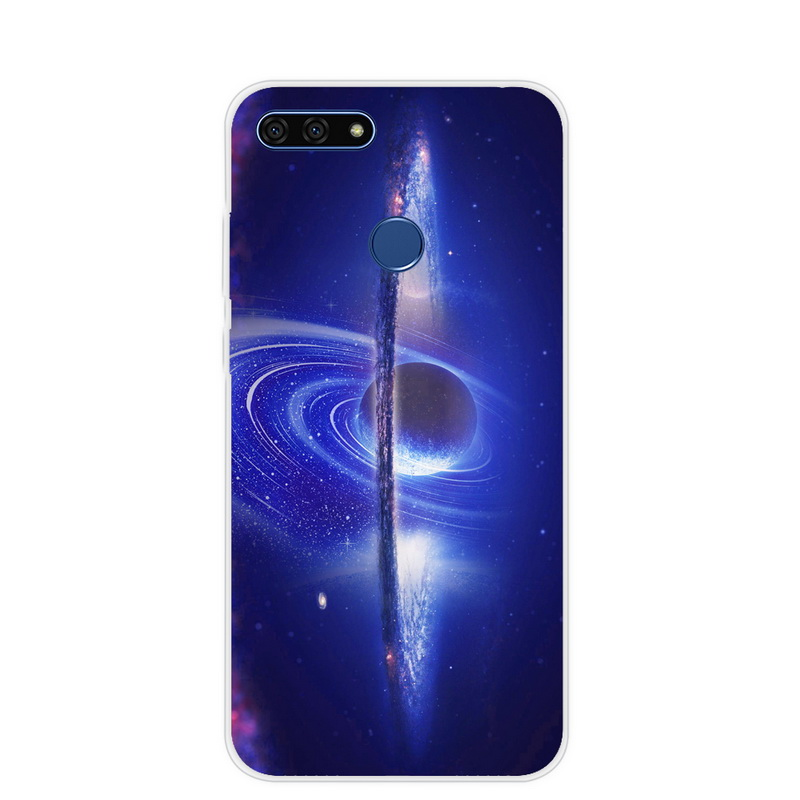 huge discount eaca9 5eaea AUM-L41 Coque For Huawei Honor 7C 5.7 Inch Case Silicone Soft TPU Back  Cover For Huawei Honor 7C Case Honor 7 C Honor7c C7 Slim