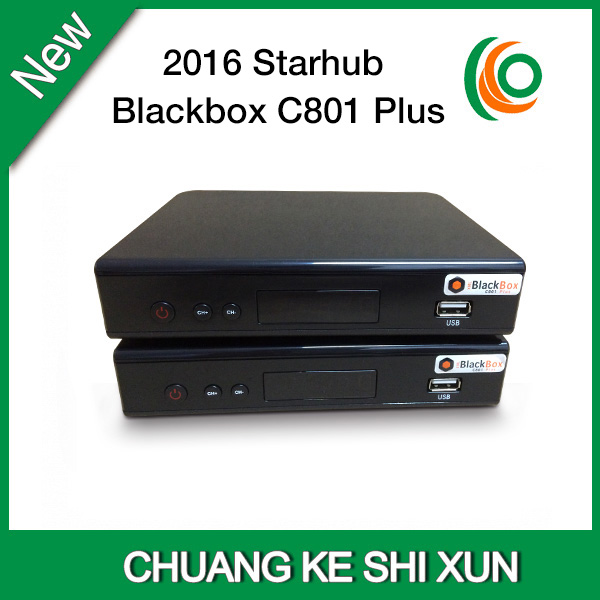 US $104 88 |Latest singapore starhub hd cable tv set top box Nagra 3  blackbox C801plus with free wifi dongle-in Set-top Boxes from Consumer