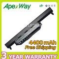 Apexway 4400 mah da bateria do portátil para asus a32 k55 a32-k55 a41-k55 a45 a55 A75 K45 K55 K75 R400 R500 R700 U57 X45 X55 X75 Series