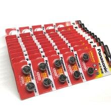 1000pcs/lot New Original Battery For Panasonic LR44 A76 AG13 G13A LR1154 357A SR44 1.5V Lithium Button Cell Coin Batteries