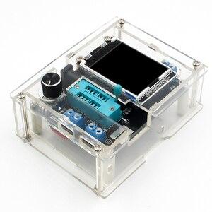 Image 3 - GM328 Multi use Transistor Tester DIY Kit Diode Capacitance Voltage Meter PWM Square Wave Signal Generator +DIY Acrylic Case