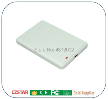 ISO18000-6C protokołu 860 Mhz ~ 960 Mhz USB UHF czytnik RFID z Demo instrukcja obsługi oprogramowania + 10 sztuk UHF rfid karty tagi epc gen2 tanie i dobre opinie CZS10769 czstar usb rfid uhf reader and writer 107*69*12mm 902-928 MHz (US standard) or 865-868mhz (EU standard) passive ISO18000-6C EPC global C1 gen2