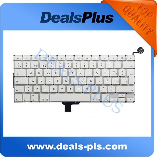 "NEW White A1342 Spain Spanish Keyboard For Apple Macbook 13""inch Unibody A1342 Spanish Keyboard"