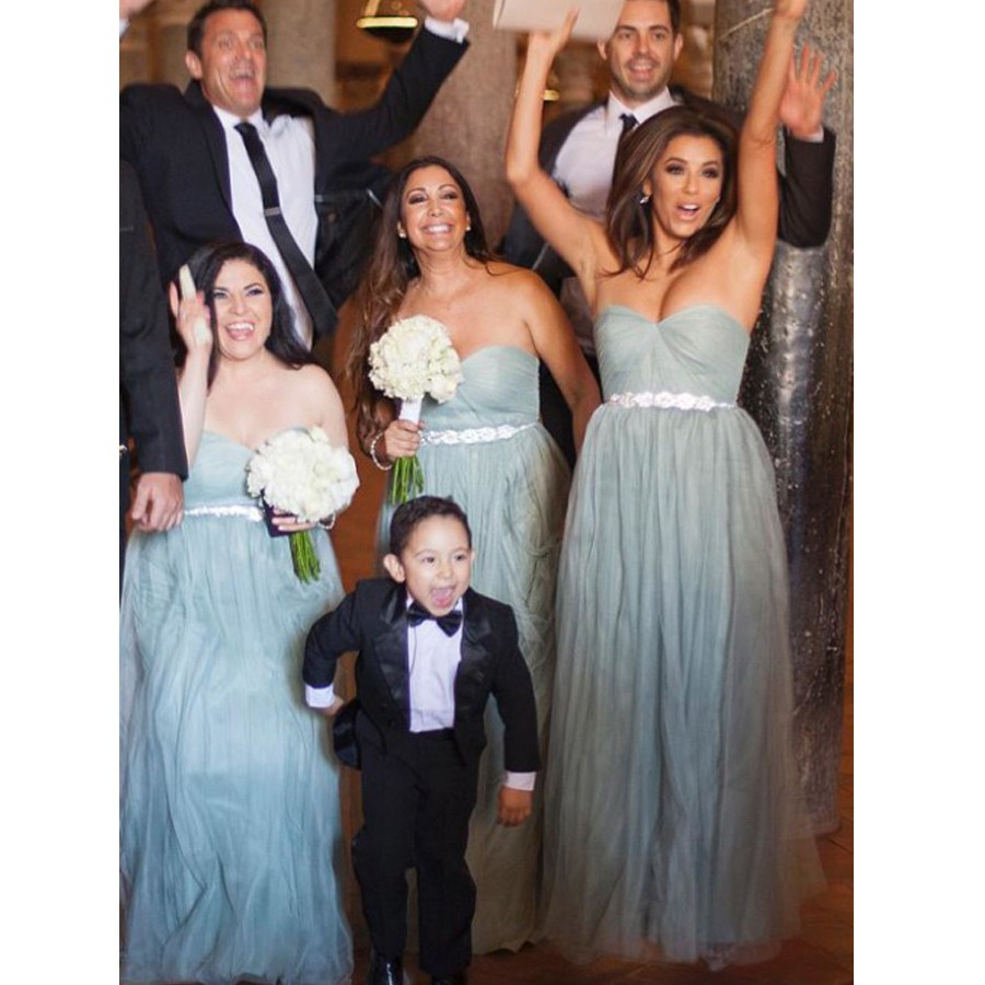 Cheap grey bridesmaid dresses long 2017 sweetheart weddings party cheap grey bridesmaid dresses long 2017 sweetheart weddings party dress a line tulle maid of honor gowns custom made in bridesmaid dresses from weddings ombrellifo Images