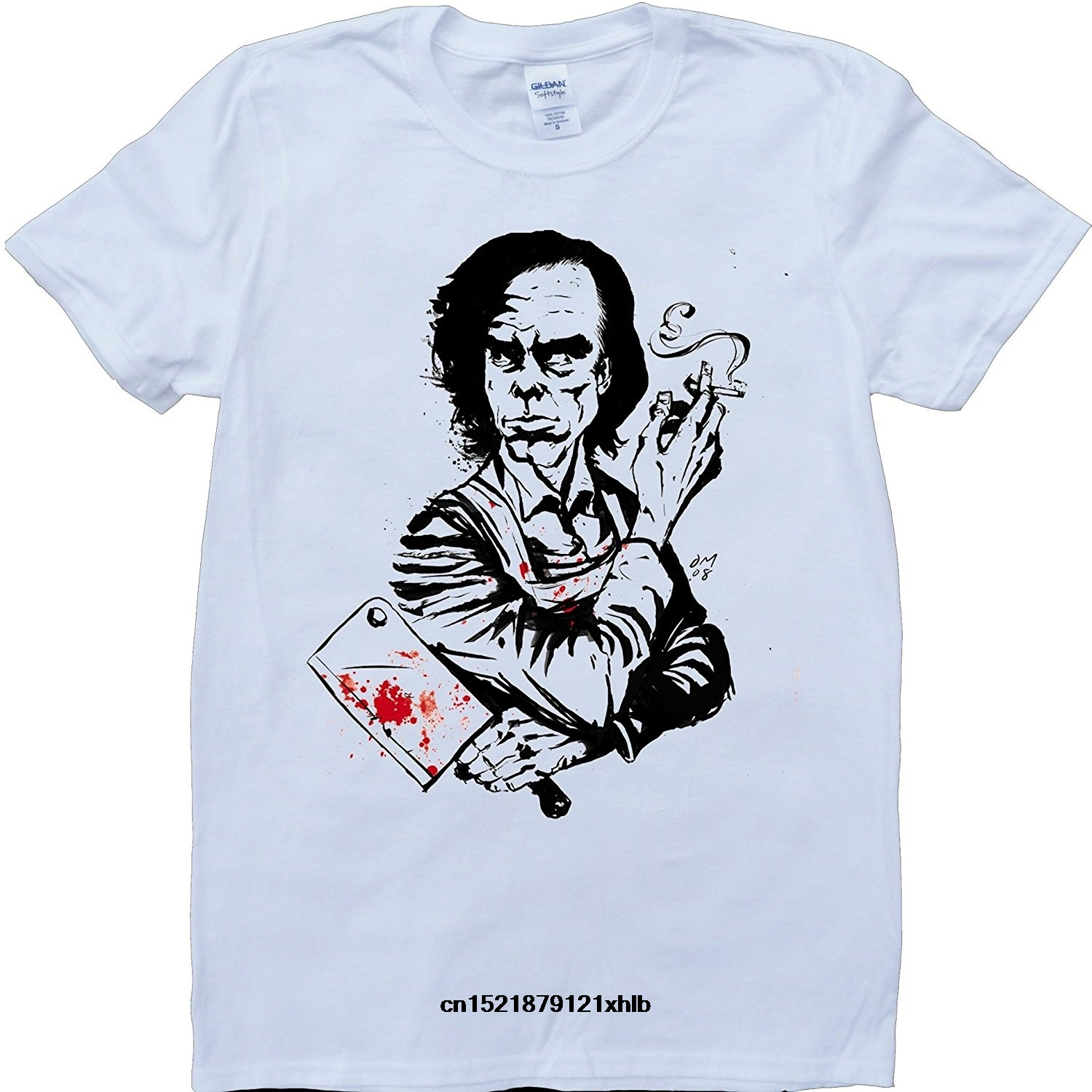 Men T Shirt Nick Cave Cleaver White O-Neck Funny T-shirt Novelty Tshirt Women