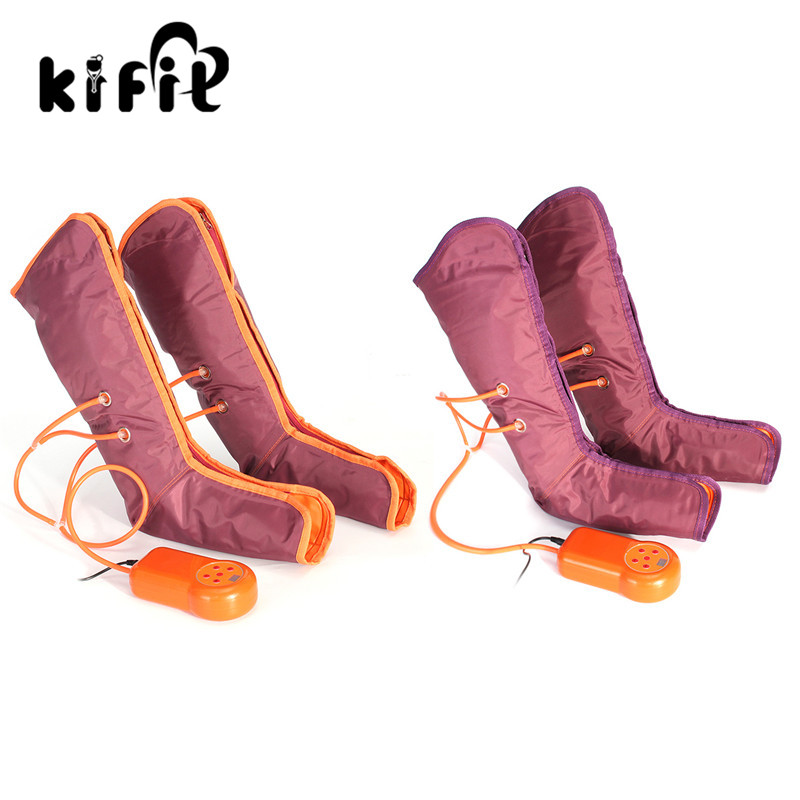 KIFIT Electric Foot Pedicure Machine Leg Wraps Pressure Massager Foot Ankles Therapy Health Care Tool foot machine foot leg machine health care antistress muscle release therapy rollers heat foot massager machine device feet file