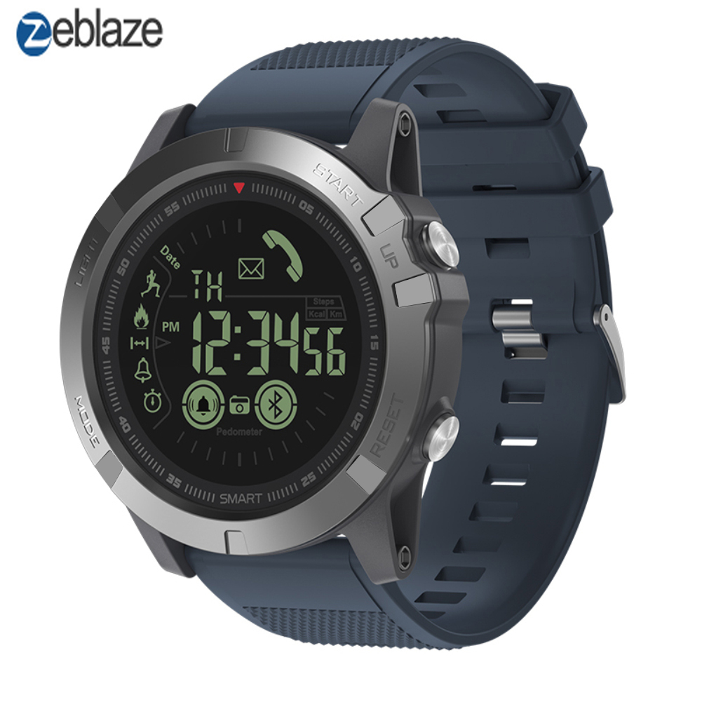 Zeblaze VIBE 3 Smartwatch IP67 Waterproof Wearable Device Heart Rate Monitor IPS Color Display Sport Smart Watch Pk T1 Tact