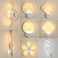 モダンなスタイルウォールライト寝室 led ウォールライトリビングルームの壁照明屋内ランプ温白色光とコールドホワイトライト