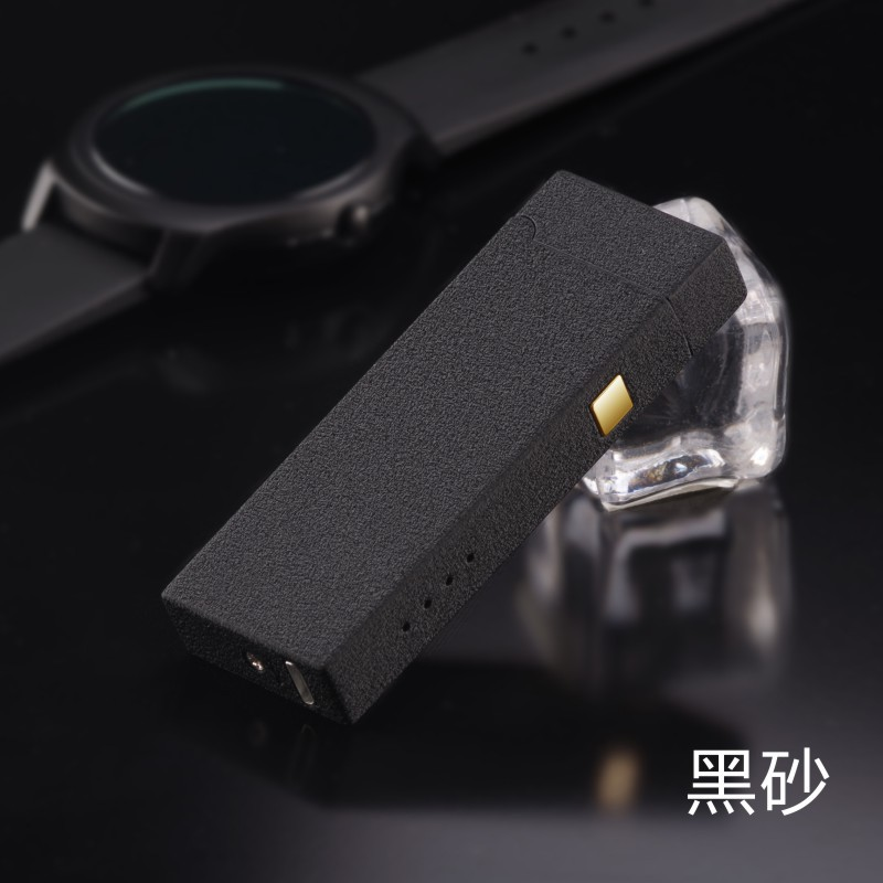 Personality Creative Windproof USB Charging Touch Induction Double Arc Lighters Pulse Plasma Cigarette Lighter Gadgets for Men