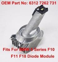 1PCS F10 F11 LCI Daytime Driving Angel Eyes Light DRL LED Maker OEM Part Number 63127262731 Fits For BMW 5 Series F10 F11 F18