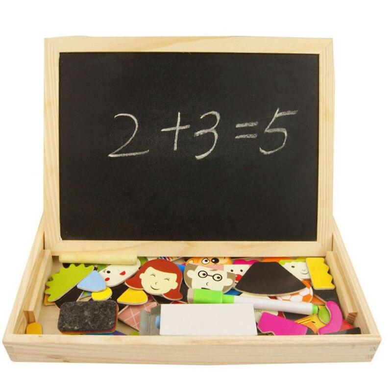 Новый младенцу Образование головоломки деревянные игрушки пазл с отцовства детские игрушки