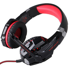 New Black G9000 USB Led Gaming Headphones with Microphone 7.1 Surround Sound Auriculares Game Headset LED Light for PC Gamer