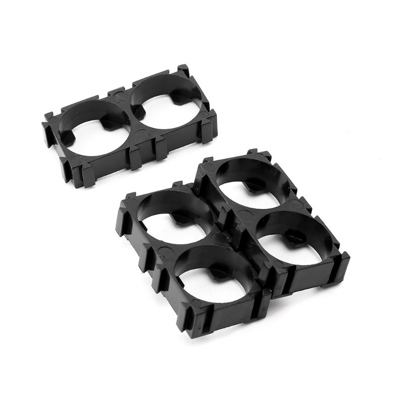 4pcs 1x3 Cell Safety Spacer 18650 Li-ion Battery Holder Radiating Shell Bracket