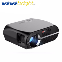 VIVIBRIGHT LED Projector GP100. 1280×800 Resolution 3200 Lumens Support 1080P, Home Theater Projector LED TV Cinema