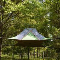 220*200cm Ausgesetzt Baum Zelt Ultraleicht Hängen Baum Haus Camping Hängematte Wasserdicht 4 Saison Zelt für Wandern Rucksack