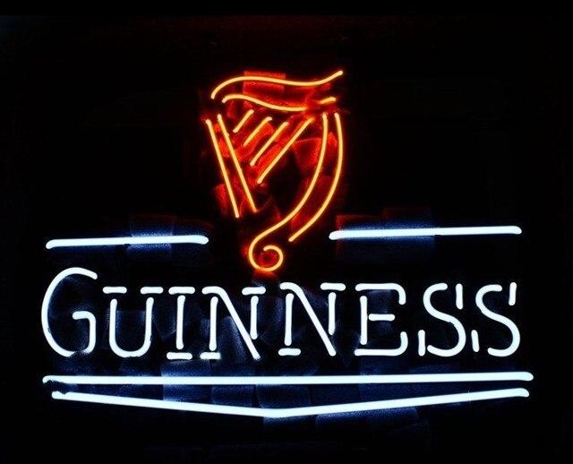 Custom Guinness Neon Light Sign Beer Bar