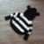 Nuevo otoño 2017 primavera y otoño suéter de los bebés de rayas con capucha suéter de los cabritos encantadores de la manera suéter manga murciélago