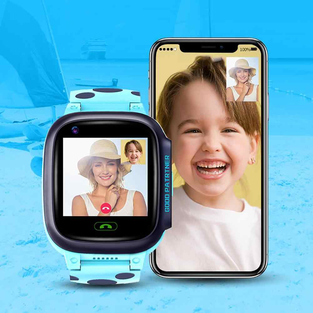Y95 Children Smart Watch HD Video Call 4G Full Netcom With AI Payment WiFi Chat GPS Positioning Watch For Kids Students Gift