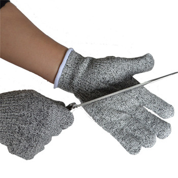 Newest Durable Quality Grey Safety Cut Proof Stab Resistant Stainless Steel Wire Metal Mesh Butcher Cut-Resistant Glove Anti-cut