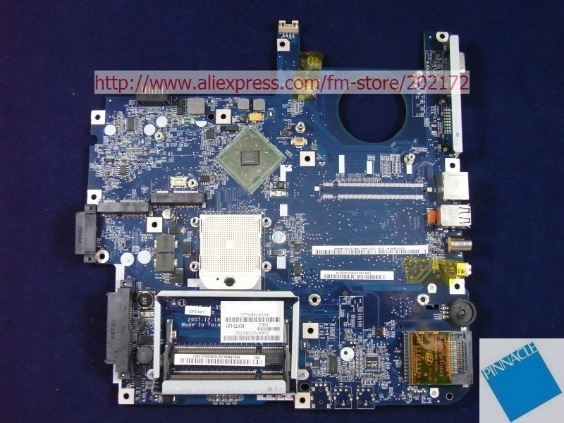 Laptop motherboard for  Acer aspire 7220 7520 7520G  MB.AMM02.001 (MBAMM02001)  ICY70 L21 LA-3581P (ICW50) 100% tested good
