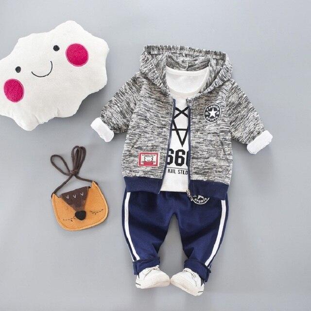 3d22d57d9 DIIMUU Spring Boys Clothes Children Fashion Clothing Casual Sports Outfits  Cotton Hoodies Zipper Coats T-Shirts Sports Pants Set
