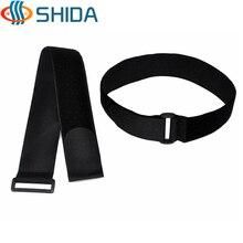 10 шт. 3*55-80 см черный многоразовый Сертифицированный ленточный крюк и петля волшебная лента, крепежная компьютерная кабельная стяжка из нейлона ремни с пластиковой пряжкой