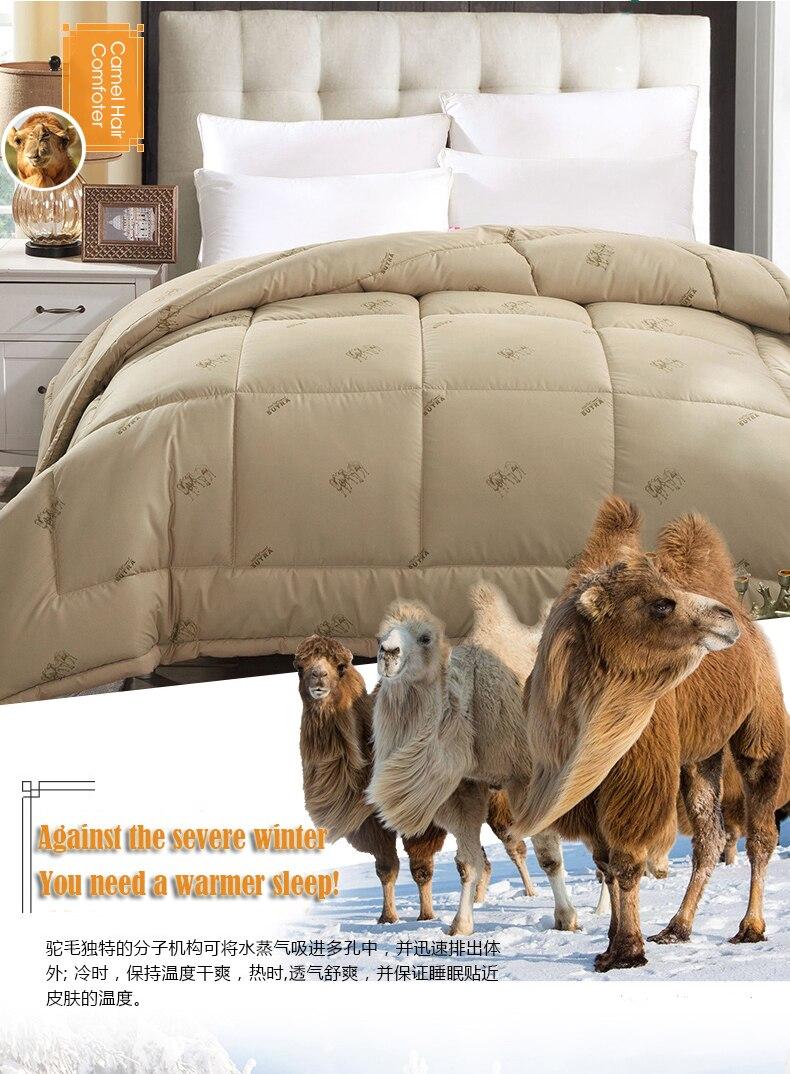 Camel Hair Comforters 12