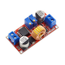 Bateria de lítio original 5a dc para dc cc, placa de carregamento conversor de energia led carregador de lítio de passo para baixo módulo xl4015