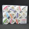 #20200 precio de fábrica canni 12 unids set gel uv brillo colorido 5 ml pura pintura uv gel kit