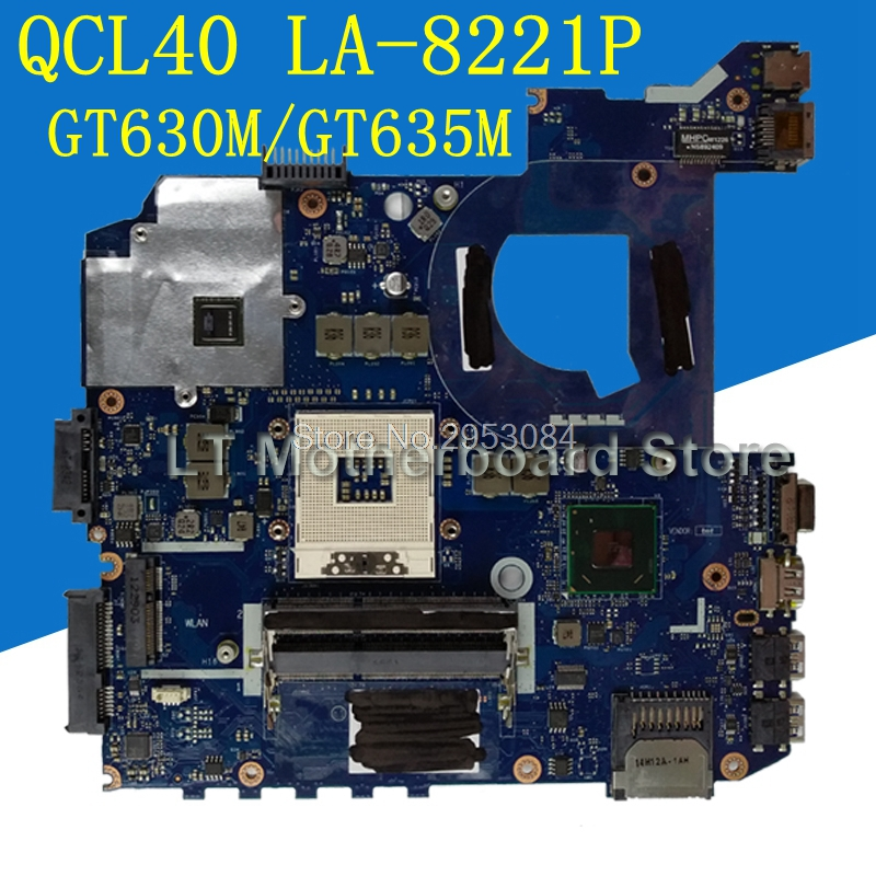 Original QCL40 LA-8221P GT630M 2G motherboard For ASUS A45V A85V K45VD K45VM K45VJ K45VS Laptop mainboard 100%Tested motherboard худи print bar flower birds