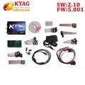 Высокое качество KTAG ktag ЭКЮ инструмент чип-тюнинг 2.10 Оборудование V5.001 Без Лексем Ограничено К TAG 2.10 ECU Чип-Тюнинг интерфейс