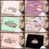 Mairuige Big promotion mouse pad Cute Cat Picture Anti-Slip Laptop PC Mice Mat For Optical Laser 22X18CM