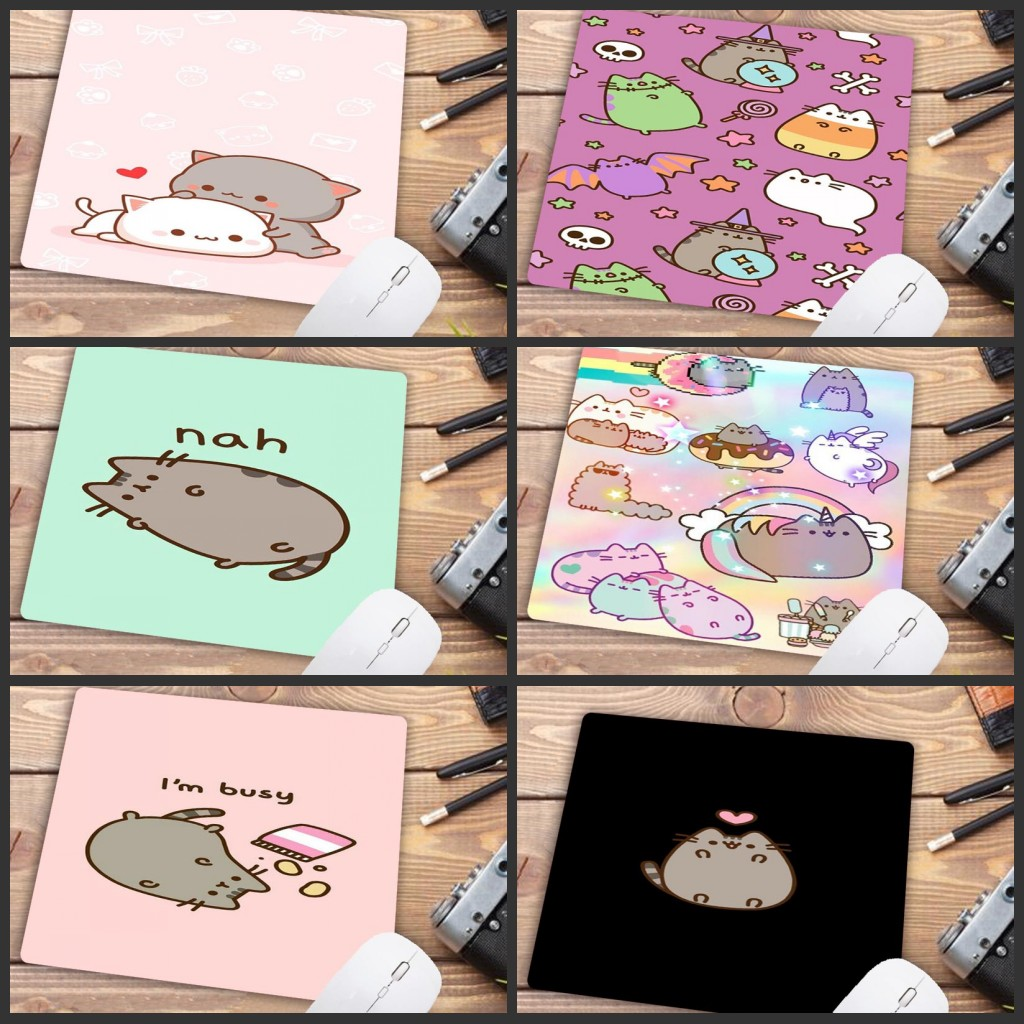 Mairuige Big Promotion Mouse Pad Cute Cat Picture Anti-Slip Laptop PC Mice Pad Mat Mousepad For Optical Laser Mouse 22X18CM
