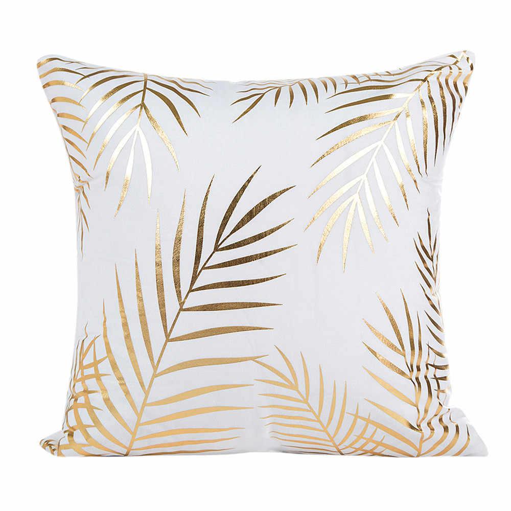 Gajjar 枕 45*45 金箔印刷枕幾何投げるドロップシッピングインフレータブル首枕旅行
