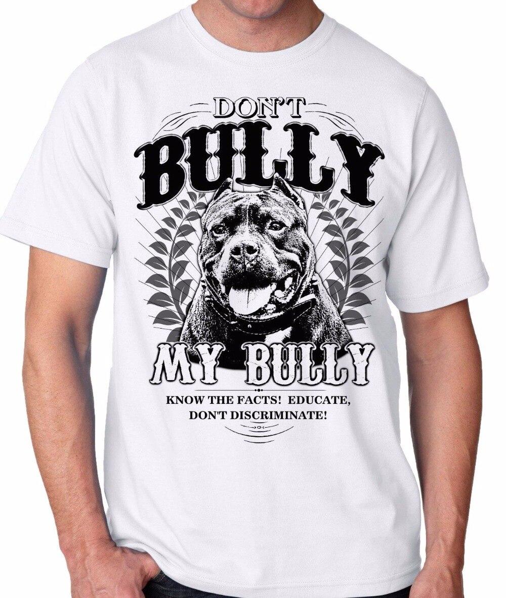 2018 Новое поступление Футболки для девочек Для мужчин 100% хлопок футболка не хулигана мой хулигана питбуль Петербурга для Pitbull любителей футб...