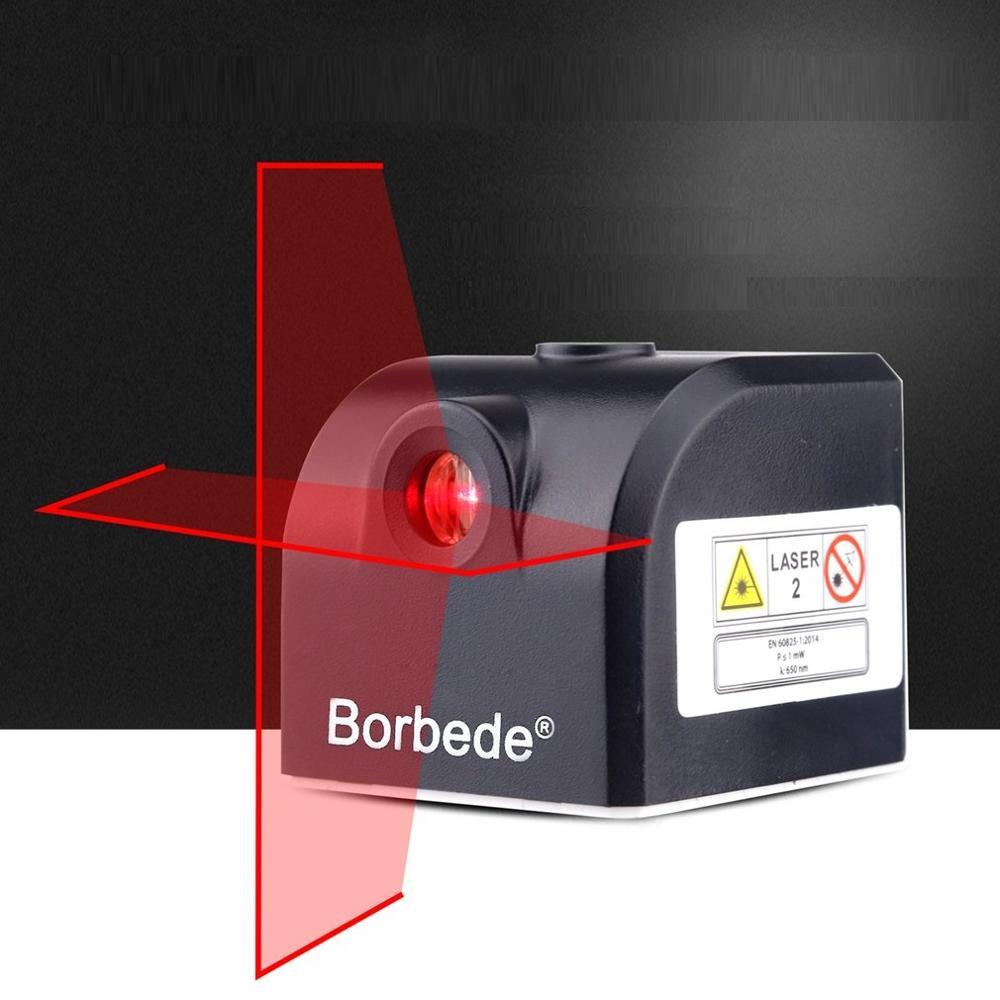 Mini Cruz Vermelha Laser Medidor de Nível de Instrumento de Medição de Níveis Lasers Vertical Horizontal Ferramenta