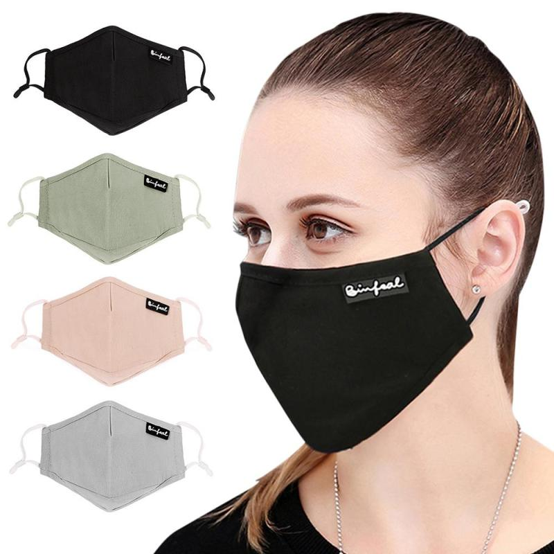Health Care Personal Health Care Tcare 1pcs Pure Color Mask Dust Mask Anti Pollution Mask Pm2.5 Activated Carbon Filter Insert Can Be Washed Reusable Pollen Mask