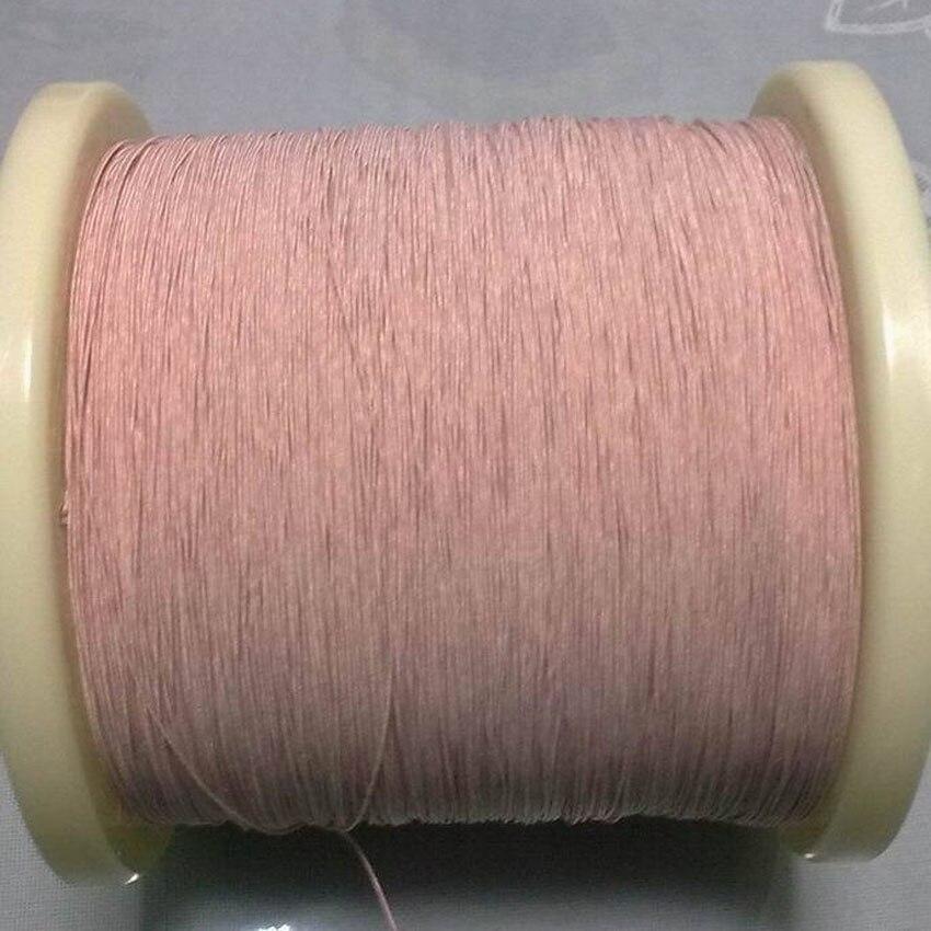 0.19mm 0.07x5 strands,(100m pc) Mine antenna Litz wire,Multi-strand polyester silk envelope braided multi-strand wire