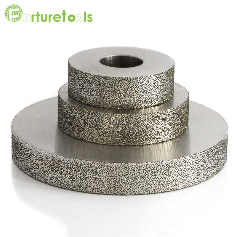 4 inch 1A1 plated diamond abrasive grinding wheel for tungsten steel China diamond tools manufacturer grit 60~600# z lion 4 diamond cup wheel grit 30 silent core turbo cup grinding aluminum base abrasive tool for concrete granite thread m14