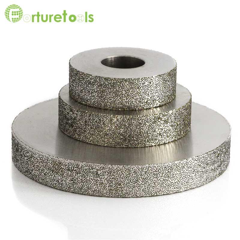 4 pouce 1A1 plaqué diamant et CBN meule abrasive pour carbure de tungstène acier Chine diamant outils grit 60 ~ 600 #