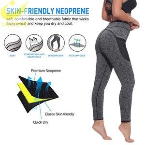 Image 4 - LAZAWG ผู้หญิงเอวเทรนเนอร์ร้อนซาวน่าเหงื่อกางเกง Neoprene Slimming Body Shaper GYM Workout กางเกง Tummy ควบคุมกางเกง
