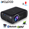 WZATCO CTL80 Android 6 Wifi inteligente portátil Mini LED 3D TV proyector soporte Full HD 1080 p 4 K Video casa teatro Proyector